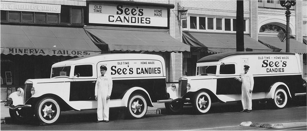 See's Candies была основана в 1921 году